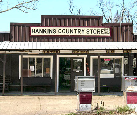 Hankins Country Store is alive and well at Pelsor. Yipee!!