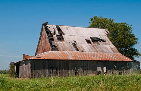 This opld barn