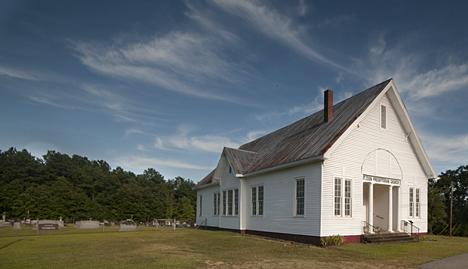 Drew Presbyterian Church, US Hwy 425, north of Monticello, Arkansas.