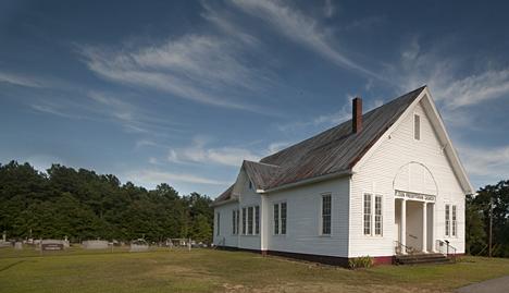 Drew Presbyterian Church, US Hwy 425, north of Monticello, Arkansas.