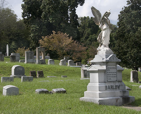 The barlow family plot