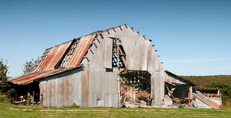 This barn, a 1947 model, is now 62 years old.