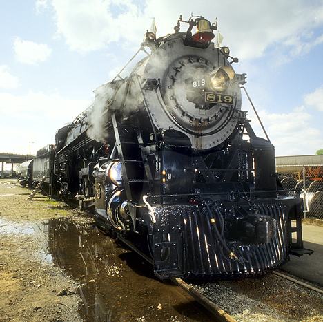 Cotton Belt Engine 819