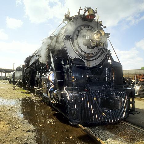Cotton Belt Engine 819