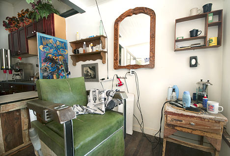 JoJo Norton's Ida Barbershop in Carroway's General Store