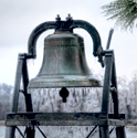bell with ice