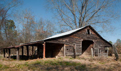 old barn at Smead AR