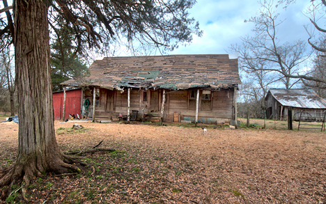 old house at Smead Arkansas