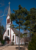 St. Boniface Catholic Church, New Dixie community Arkansas