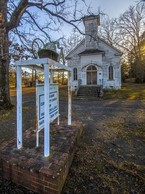 Houston Methodist Church Houston Arkansas | Weekly Grist for the