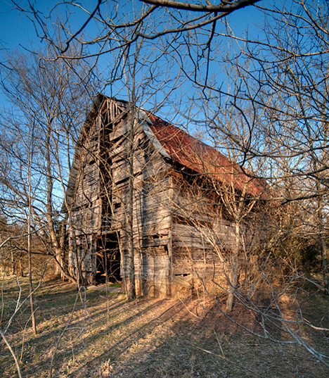 Old barn near Houston AR
