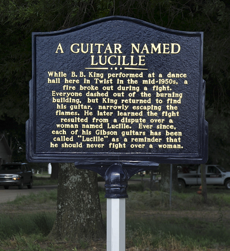 How BB King named Lucille