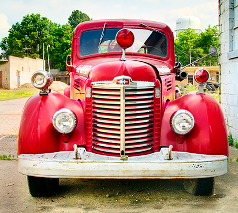 1947 International Harvester KB6 Fire Truck