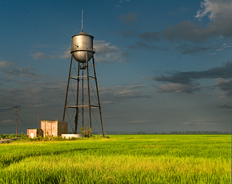 Lake Dick water tower