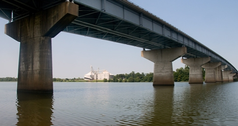 Bridge over the Arkansas River