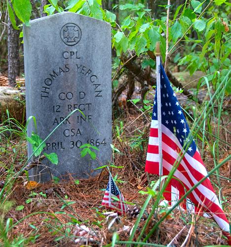 confederate veteran grave