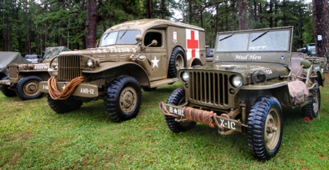 WWII dodge power wagon ambulance