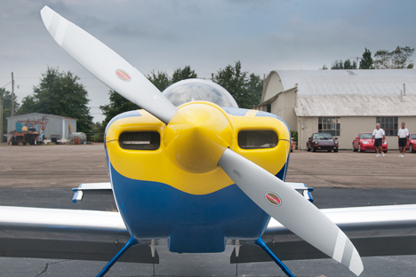 RV aerobatic airpplane