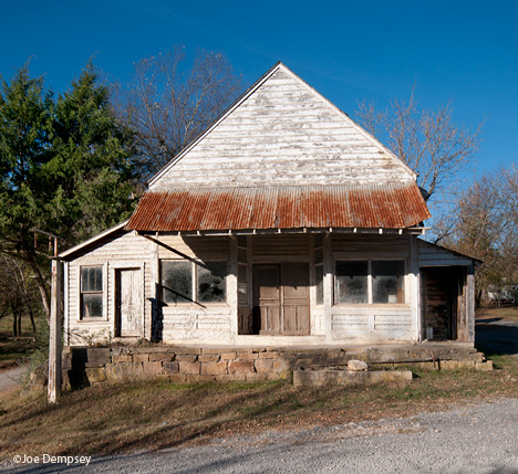 Old store at Snowball AR