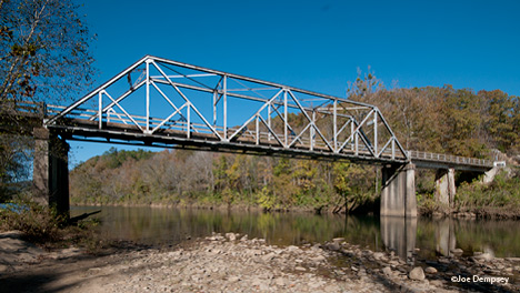 highway 123 bridge over big piney creek