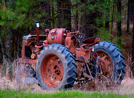 Cannabilized tractor
