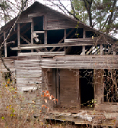 Old house on Crain Loop in Cleveland County Arkansas