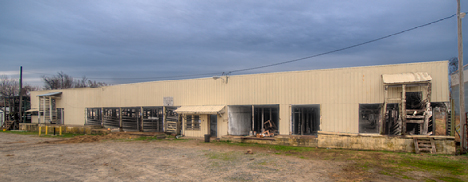 Pine Bluff stockyards