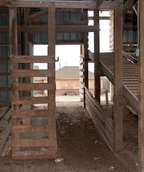 stock yards loading ramp