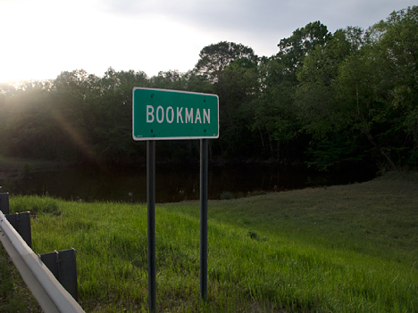 Bookman sign