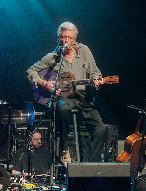 John Hammond performing