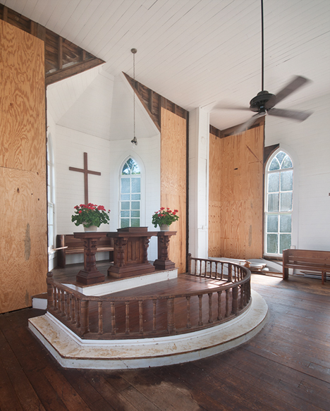 Inside of Selma Methodist Church