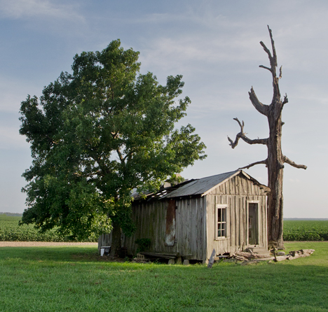 old sharecropper house