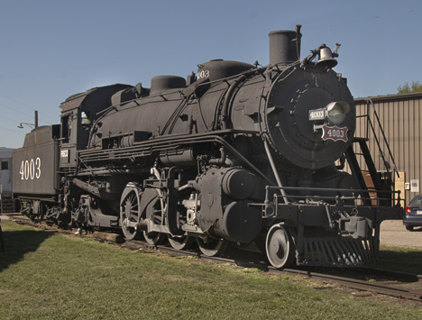 Frisco steam locomotive 4130