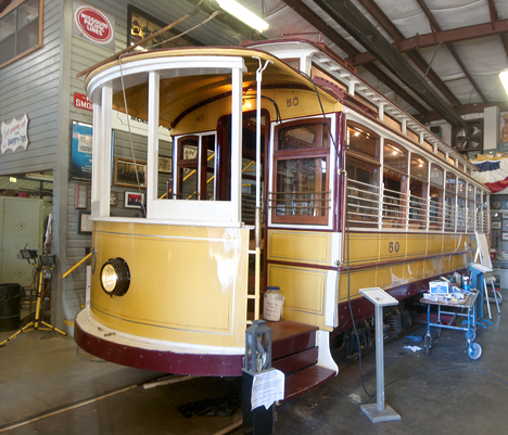 Restored Fort Smith Trolley