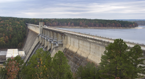 Greers Ferry Dam