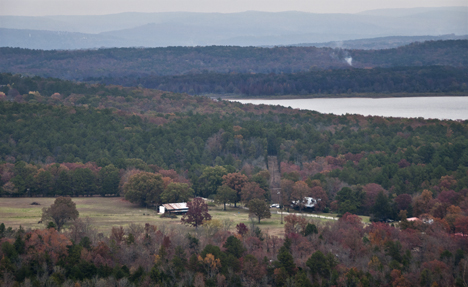 Overlook of Greers Ferry Lake