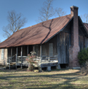 The Samuel D. Byrd house at Poyen Arkansas