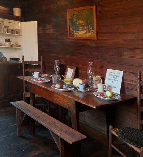 1896 Kitchen table