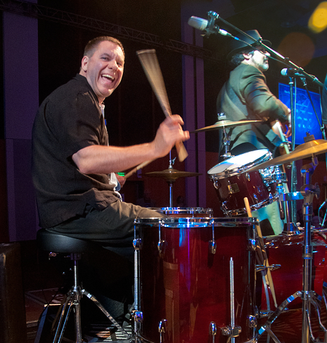 drummer at the 2012 blues music awards