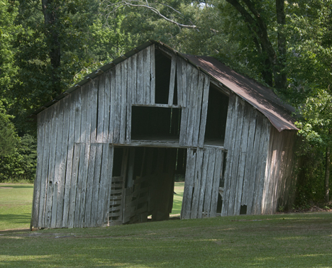 Old barn on Mount Harmony Church Road near PIne Bluff AR