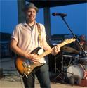 Hadden Sayers playing guitar