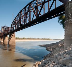 Yancopin Arkansas River Bridge