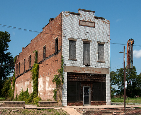 The Leake building in Altheimer, Arkansas