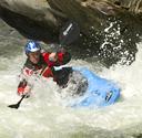 Jason Mellor in rapids in Cossatot River