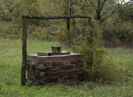 old dug well in the ozarks