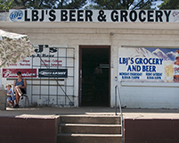 LBJ's beer and grocery