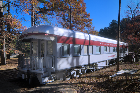 The Traveler railroad executive private car