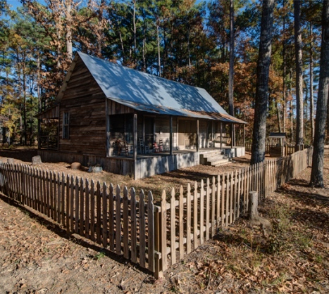 dogtrot house on pumpkin hill road rison ar