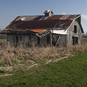 Old barn south of Pine Bluff Arkansas