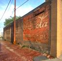Old Coca-Cola sign